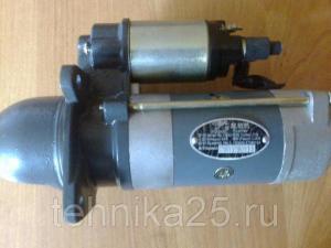 Стартер двигателя YCD4J22T-115 на погрузчик Shanlin ZL30,Yigong ZL30,Laigong ZL30,Atlant 300L/300M,Grizzly GR2S