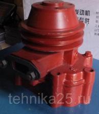 Насос водяной (помпа) двигателя YTO YT4B2Z-24 на погрузчик NEO 300,NEO S300,CTK 930S,BULL 930,FUKAI ZL930