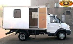 Передвижная мастерская на шасси ГАЗ-3302 «ГАЗель»