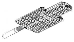 Светильник LeaderLight (LL) магистральный консольный LL-ДКУ-02-300-0306-65Д