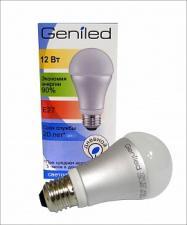 Светодиодная лампа Geniled Е27 12w (цвет холодный)