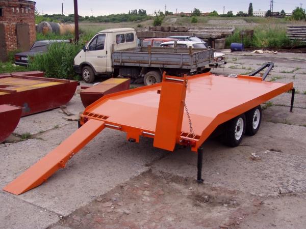 Легковые автомобильные прицепы МЗСА - производство