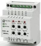 Реле напряжения и контроля фаз РНПП-301