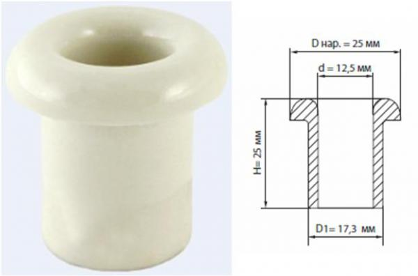 изолятор керамический проходной