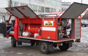Пожарный автомобиль уаз