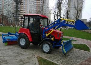 Трактор МТЗ 320.4 Минской сборки