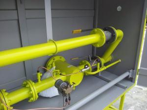 Пункт учета расхода газа ПУРГ-16, ШУУРГ-16