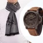 Распродажа брендовых платков + часы в подарок