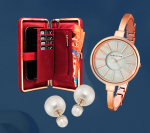 Купить Портмоне Red Bow, Часы Anne Klein и Серьги Dior