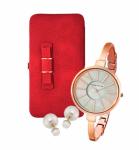 Портмоне Red Bow, Часы Anne Klein и Серьги Dior купить