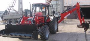 Экскаватор-погрузчик ЭО-2626 на базе трактора МТЗ-92П (4х4)