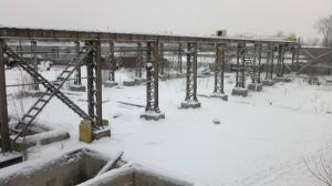 Каркас открытый 48*60*6м В комплекте Мостовые Краны 22.5м по5-10тн 2шт.