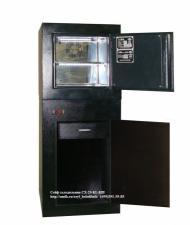 Сейф холодильник двухкамерный для хранения наркотических средств