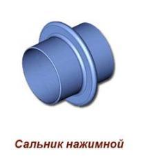Сальник нажимной (серия  5.900 - 3) длиной 800 мм,  диаметром условного прохода  800 мм. (ТМ - 96.01.00 - 13)