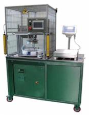 Полуавтомат для нарезки круглого сыра на порции фиксированного веса