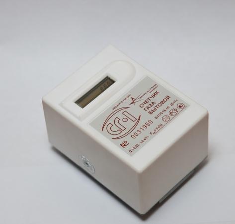 заменить батарейку в счетчике газа сг 1