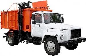 Мусоровоз ГАЗ-САЗ-3901-10