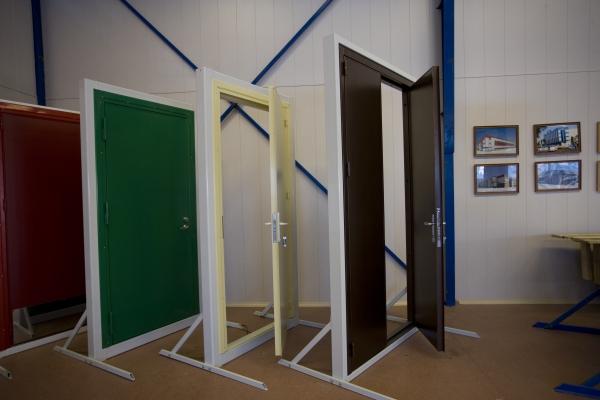 двери противопожарные металлические антивандальные