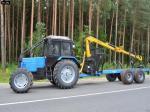 Прицеп лесовоз Беларус мпт 461.1