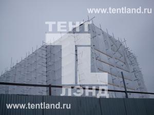Фасадные, ветрозащитные укрытия, сетки.