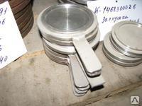 Заглушка с рукояткой ЗР-1- 400-40 ст 09Г2С Т-ММ-25-90- 06-01