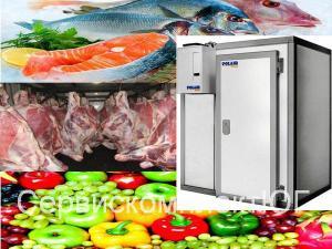 Холодильная камера POLAIR КХН-11,02  3160х1960х2200   80 мм