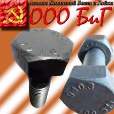 Болты высокопрочные М16 ящ от 40 до 60 кг ГОСТ Р52644-2006 10.9 ХЛ ДМЗ