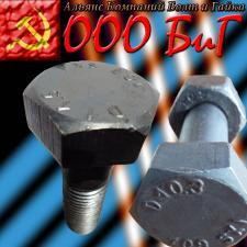 Болты высокопрочные М20 ящ 50 кг ГОСТ Р52644-2006 10.9 ХЛ ДМЗ