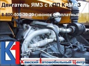 Установка ЯМЗ на КАМАЗ. ООО Камский Автомобильный Центр