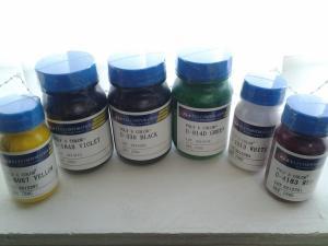 Красители (колеровочные пасты) для мягкого пенополиуретана (поролона)