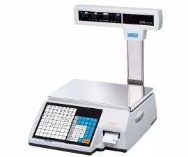 Весы торговые с печатью этикеток CAS CL5000J