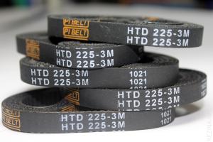 Зубчатый ремень HTD 207 3M 9 mm