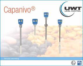Новый Capanivo CN 4000 - емкостной датчик уровня, производство UWT GmbH