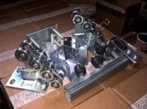 Комплектующие, ролики для откатных ворот до 350 кг: комплект МИКРО, скидка 42%!