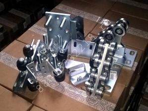 Запчасти, фурнитура для откатных ворот 300-500 кг: комплект ЭКО, скидка 36%!