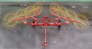 Грабли-ворошилки Россия прицепные 8-9 колес