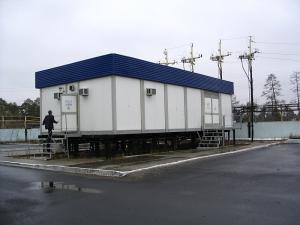 Комплектные распределительные устройства КРУ в блочно-модульном здании