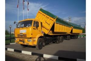Камаз 68904 - зерновоз-автопоезд до 65м3 в федеральный лизинг авансовый платеж от 20%