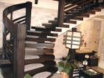 Лестницы в японском стиле из массива дерева