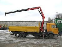 Кран-манипулятор (КМУ) Fassi (Фасси) на базе КАМАЗ-4308