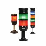 Сигнальная колонна 70 мм, красная, желтая, зеленая 24 В, светодиод LED Эмас