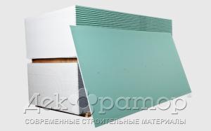 """Гипсокартон влагостойкий (ГКЛВ) """"Декоратор"""" 2500*1200*12,5 мм"""