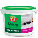 Водоэмульсионная краска V i P потолок 15кг