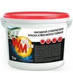 Водоэмульсионная краска Well Max фасадная 14кг