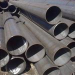 Труба бесшовная 140х14 мм Г/К сталь 10г2