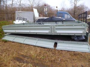 Бортовая платформа кузов Валдай и Газон удлиненная 5, 2 метра