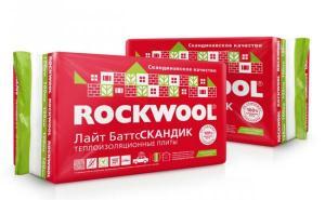 Утеплитель Роквул Скандик. 50 мм, 100 мм