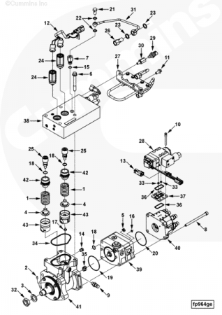 Deutz Engine Fuel Pump Diagram likewise 801 Ford Tractor Engine furthermore Reading Wiring Diagrams Control together with John Deere 400 Pto Diagram together with 8 3l Mins Wiring Diagram. on ford new holland wiring diagram