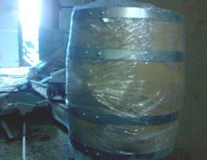 Бочка 100л скального дуба для производства вина, коньяка, виски