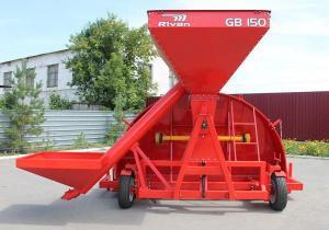 Зерно-упаковочная машина с дополнительным нижним бункером GB150.03.01